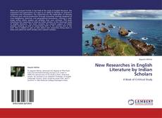 Bookcover of New Researches in English Literature by Indian Scholars