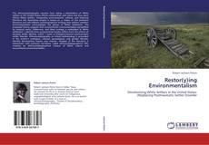 Bookcover of Restor(y)ing Environmentalism