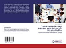 Couverture de Global Climate Change Regime's Negotiations and Decision-Making