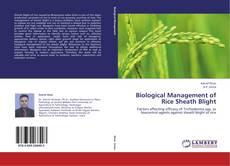 Biological Management of Rice Sheath Blight的封面