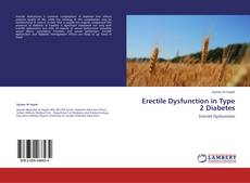 Buchcover von Erectile Dysfunction in Type 2 Diabetes