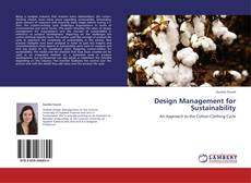 Couverture de Design Management for Sustainability