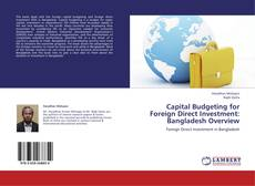 Capital Budgeting for Foreign Direct Investment: Bangladesh Overview kitap kapağı