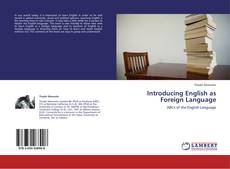 Portada del libro de Introducing English as Foreign Language