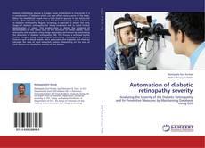 Обложка Automation of diabetic retinopathy severity