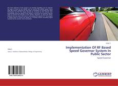 Обложка Implementation Of RF Based Speed Governor System In Public Sector