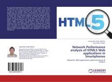 Capa do livro de Network Performance analysis of HTML5 Web applications in Smartphones