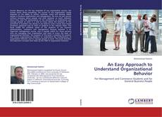 Bookcover of An Easy Approach to Understand Organizational Behavior