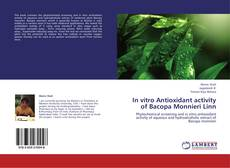 Capa do livro de In vitro Antioxidant activity of Bacopa Monnieri Linn