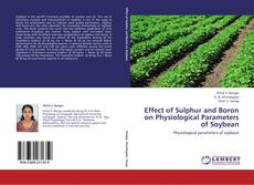Bookcover of Effect of Sulphur and Boron on Physiological Parameters of Soybean