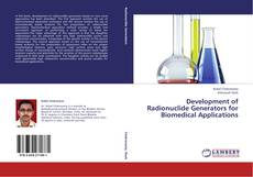 Capa do livro de Development of Radionuclide Generators for Biomedical Applications