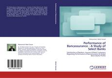 Buchcover von Performance of Bancassurance - A Study of Select Banks