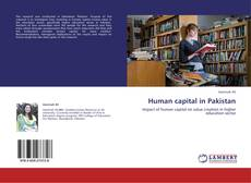 Bookcover of Human capital in Pakistan