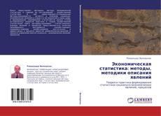 Copertina di Экономическая статистика: методы, методики описания явлений