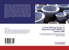 Couverture de A Vital Missing Target in Reconstruction Efforts in Eastern DRC