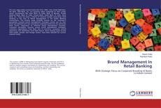 Bookcover of Brand Management In Retail Banking