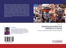 Teaching Kiswahili Oral Literature in Kenya kitap kapağı