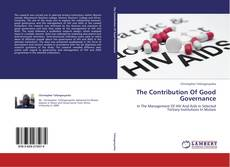 Bookcover of The Contribution Of Good Governance