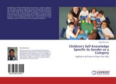 Bookcover of Children's Self Knowledge Specific to Gender as a Category