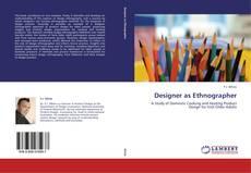 Capa do livro de Designer as Ethnographer