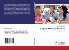 Bookcover of English, Malay and Persian