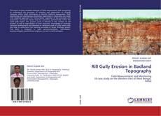 Rill Gully Erosion in Badland Topography kitap kapağı