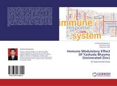 Bookcover of Immuno Modulatory Effect Of Yashada Bhasma (Incinerated Zinc)