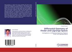 Bookcover of Differential Geometry of Finsler and Lagrange Spaces