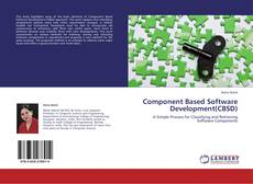 Bookcover of Component Based Software Development(CBSD)