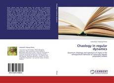 Bookcover of Chaology in regular dynamics