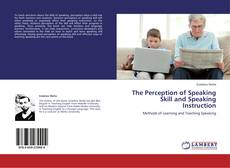 Capa do livro de The Perception of Speaking Skill and Speaking Instruction