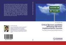 Buchcover von Critical Barriers and Risks Affecting ERP Post-Implementation Success