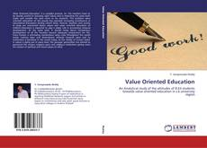 Bookcover of Value Oriented Education