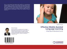 Обложка Effective Mobile Assisted Language Learning