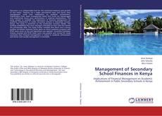 Buchcover von Management of Secondary School Finances in Kenya