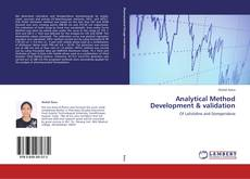 Bookcover of Analytical Method Development & validation