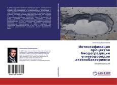 Copertina di Интенсификация процессов биодеградации углеводородов актинобактериями