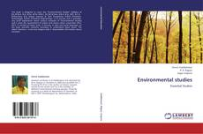 Bookcover of Environmental studies