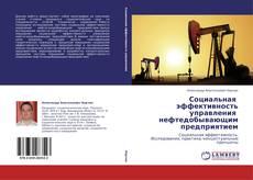Bookcover of Социальная   эффективность управления   нефтедобывающим предприятием