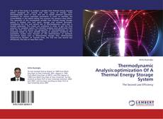 Couverture de Thermodynamic Analysis:optimization Of A Thermal Energy Storage System