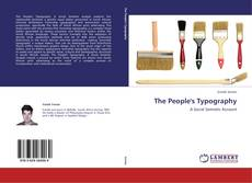 Bookcover of The People's Typography