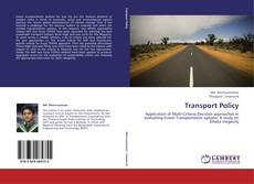 Capa do livro de Transport Policy