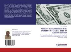 Bookcover of Roles of bank credit and its impact on SME's: a case of Kisumu county