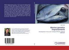 Bookcover of Marine genetics improvements