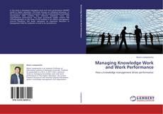 Buchcover von Managing Knowledge Work and Work Performance