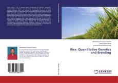 Capa do livro de Rice: Quantitative Genetics and Breeding