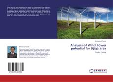 Capa do livro de Analysis of Wind Power potential for Jijiga area