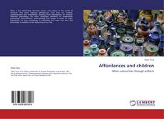 Bookcover of Affordances and children