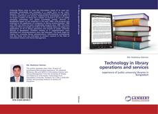 Buchcover von Technology in library operations and services