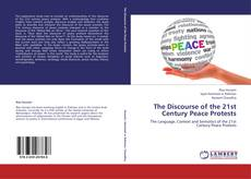 Buchcover von The Discourse of the 21st Century Peace Protests